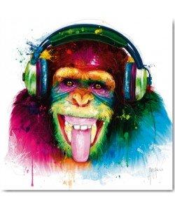 Leinwandbild, Patrice Murciano, DJ Monkey