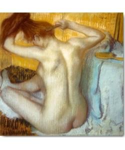 Edgar Degas, Frau bei ihrer Toilette