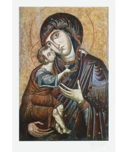 Ikone Byzantinisch, Die Muttergottes von Zvonik