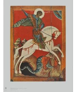 Ikone Nowgorod, Der Heilige Georg