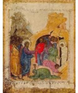 Ikone Russisch, Auferweckung des Lazarus I
