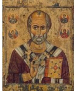 Ikone Russisch, Heiliger Nikolaus