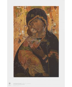 Ikone Byzantinisch, Gottesmutter von Vladimir