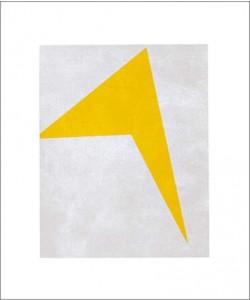 Iwan Klijun, Untitled, 1917 (yellow) (Büttenpapier)