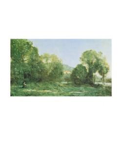 Jean-Baptiste Camille Corot, Etang  ville d'Avray