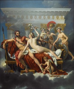 Jacques-Louis DAVID, Mars dsarm par Vnus
