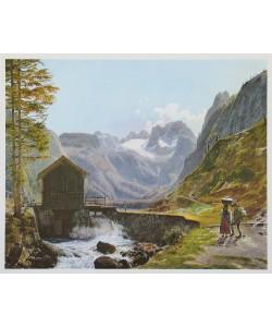 Jakob Alt, Dachstein und Gosausee