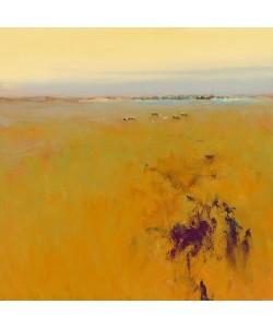 Jan Groenhart, Meadow in warm Colors