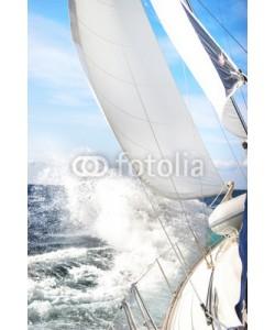 Jan Schuler, Segelboot im Sturm