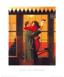 Jack Vettriano, Back Where You Belong