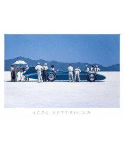 Jack Vettriano, Bluebird at Bonneville