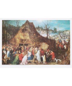 Jan Brueghel der Ältere, Anbetung der Könige