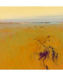 Jan Groenhart, Meadow in warm Colors