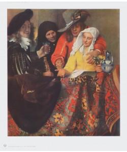 Jan Vermeer, Bei der Kupplerin
