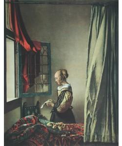 Jan Vermeer, Brieflesendes Mädchen
