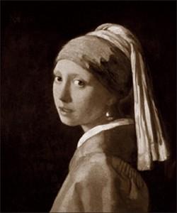 Jan Vermeer, Jeune fille  la perle