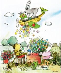 Janosch, Blumenregen