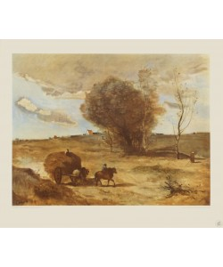Jean-Baptiste Camille Corot, Der Wagen in den Dünen