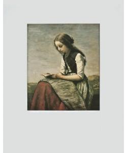 Jean-Baptiste Camille Corot, Die kleine Lesende