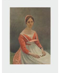 Jean-Baptiste Camille Corot, Junge Frau