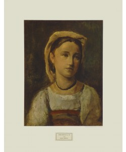 Jean-Baptiste Camille Corot, Junges Mädchen
