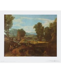 Jean Francois Millet, Römische Berglandschaft