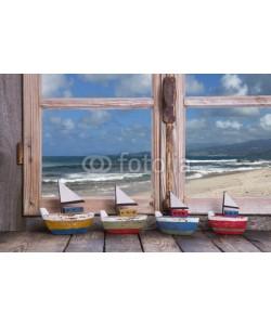 Jeanette Dietl, Sommerurlaub: Kreuzfahrtreise - Hintergrund Meer mit Booten