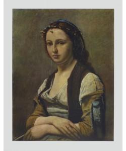 Jean-Baptiste Camille Corot, Das Mädchen mit der Perle