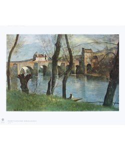 Jean-Baptiste Camille Corot, Die Brücke von Mantes
