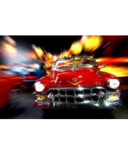 Cars in action - Cadillac rot, Jean-Loup Debionne