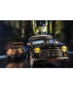 Cars in action - Austin Mini, Jean-Loup Debionne