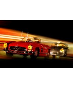 Cars in action - M.Benz 300SL, Jean-Loup Debionne