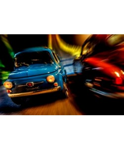 Cars In Action   Fiat 500M, Jean Loup Debionne