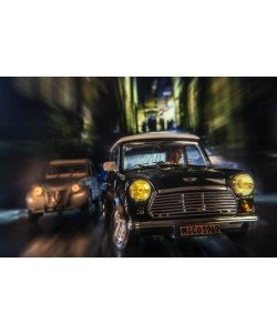 Cars in action - Austin Mini, Jean-Loup Debionne