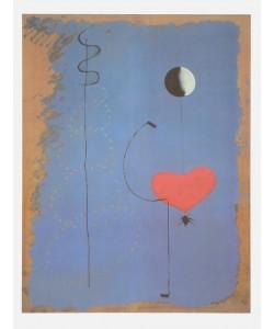 Joan Miró, Danseuse II (Tänzerin) (Granolitho-Druck auf Bütten)