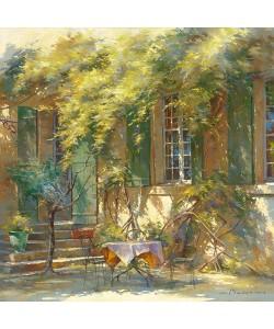 Johan Messely, La terrasse du chteau