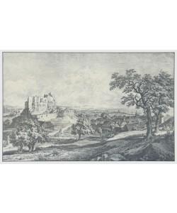 Johann Christian Brand, Schloßruine Liechtenstein