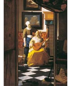 Johannes Vermeer, Der Liebesbrief