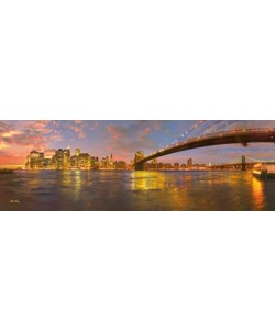 John Xiong, New York City at sunset