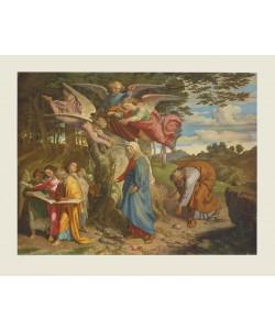 Joseph Führich, Maria überschreitet das Gebirge - 1841