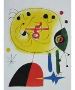 Joan Miró, And Fix the Hairs of the Star