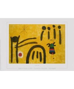 Joan Miró, Die kleine Blonde im Park der Attraktionen