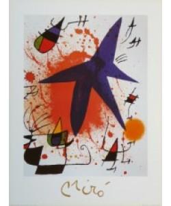 Joan Miró, L&#39Etoile Bleu - Der blaue Stern