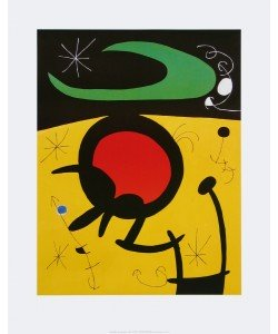Joan Miró, Vuelo de Pájaros, 1968
