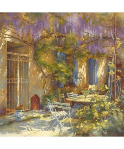 Johan Messely, A la table de Michle