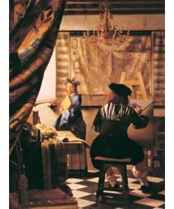 Johannes Vermeer, Die Malkunst