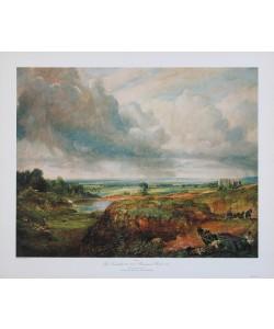 John Constable, Hampstead Heath 1825