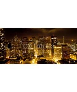 Jörg Hackemann, aerial of San Francisco by night
