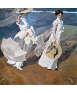 Joaquin Sorolla, Spaziergang an der Küste