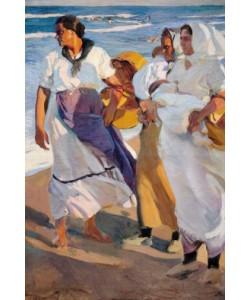 Joaquin Sorolla, Die Fischerfrauen von Valencia